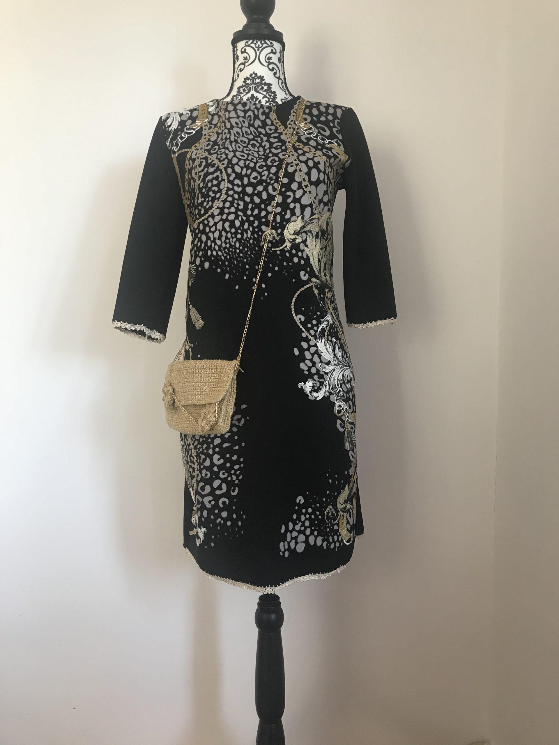Tinuta rochie & geanta handmade